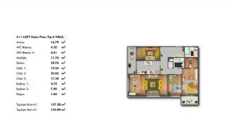Profitable Investment Flats in Büyükçekmece Istanbul, Property Plans-12