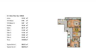 Profitable Investment Flats in Büyükçekmece Istanbul, Property Plans-13
