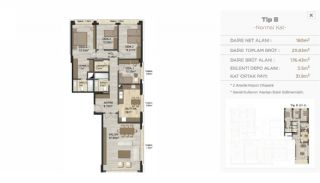 Modern Real Estate with High-End Security in Istanbul, Property Plans-4