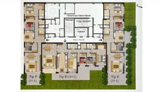 Modern Real Estate with High-End Security in Istanbul, Property Plans-7