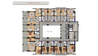 Central Sea View Apartments in Istanbul Buyukcekmece, Property Plans-9