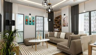 Apartments Close to Shopping Centers in Esenyurt Istanbul, Interior Photos-3