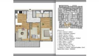 Apartments Close to Shopping Centers in Esenyurt Istanbul, Property Plans-4