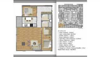 Apartments Close to Shopping Centers in Esenyurt Istanbul, Property Plans-5