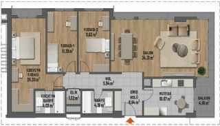 First Class Apartments in Prime Location in Maltepe Istanbul, Property Plans-2