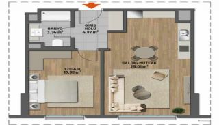 First Class Apartments in Prime Location in Maltepe Istanbul, Property Plans-3