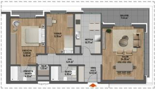 First Class Apartments in Prime Location in Maltepe Istanbul, Property Plans-5