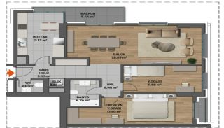 First Class Apartments in Prime Location in Maltepe Istanbul, Property Plans-7