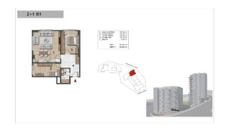 Well-Designed Centrally Located Apartments in Kağıthane, Property Plans-10