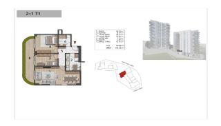 Well-Designed Centrally Located Apartments in Kağıthane, Property Plans-15