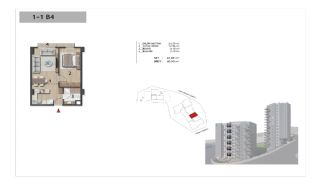 Well-Designed Centrally Located Apartments in Kağıthane, Property Plans-6