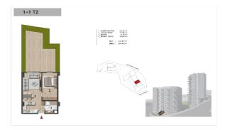 Well-Designed Centrally Located Apartments in Kağıthane, Property Plans-8