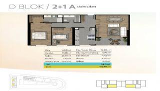 Wohnungen mit Meer und Seeblick in Istanbul, Immobilienplaene-2