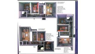 Nyckelfärdiga Lägenheter med Modern Design i Istanbul, Planritningar-1