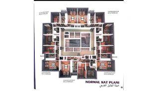 Nyckelfärdiga Lägenheter med Modern Design i Istanbul, Planritningar-2