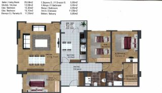 Spacious Flats near E-5 Highway in Esenyurt Istanbul, Property Plans-10