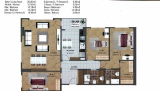 Spacious Flats near E-5 Highway in Esenyurt Istanbul, Property Plans-11