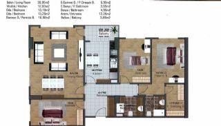 Wohnungen in der Nähe der Autobahn E-5 in Esenyurt Istanbul, Immobilienplaene-11