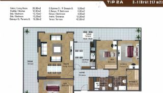 Spacious Flats near E-5 Highway in Esenyurt Istanbul, Property Plans-13