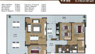 Wohnungen in der Nähe der Autobahn E-5 in Esenyurt Istanbul, Immobilienplaene-14