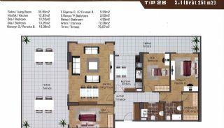 Wohnungen in der Nähe der Autobahn E-5 in Esenyurt Istanbul, Immobilienplaene-15
