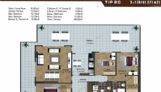 Spacious Flats near E-5 Highway in Esenyurt Istanbul, Property Plans-16