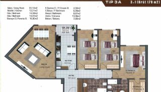 Spacious Flats near E-5 Highway in Esenyurt Istanbul, Property Plans-17