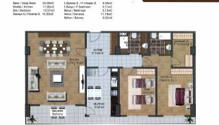 Spacious Flats near E-5 Highway in Esenyurt Istanbul, Property Plans-3