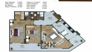 Spacious Flats near E-5 Highway in Esenyurt Istanbul, Property Plans-4