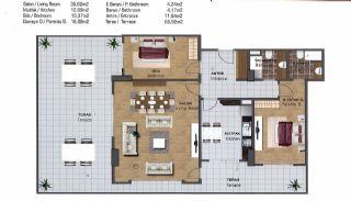 Spacious Flats near E-5 Highway in Esenyurt Istanbul, Property Plans-5