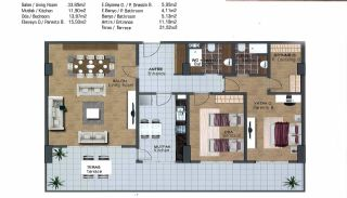 Spacious Flats near E-5 Highway in Esenyurt Istanbul, Property Plans-7