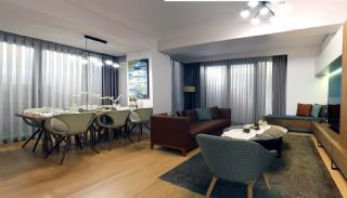 Spacious Flats with Garden Balconies in Ümraniye İstanbul, Interior Photos-12
