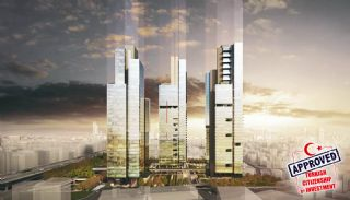 Commercial Shops Located in Luxury Complex in Istanbul, Istanbul / Sisli