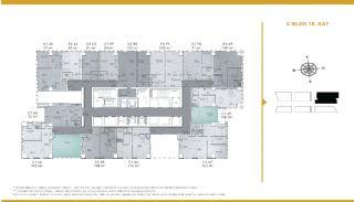 Luxueux Appartements Adaptés Pour Bureau à Domicile Istanbul, Projet Immobiliers-1
