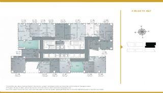Luxueux Appartements Adaptés Pour Bureau à Domicile Istanbul, Projet Immobiliers-2
