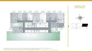 Luxueux Appartements Adaptés Pour Bureau à Domicile Istanbul, Projet Immobiliers-5