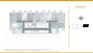 Luxueux Appartements Adaptés Pour Bureau à Domicile Istanbul, Projet Immobiliers-7