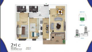 Low-Rise Apartments with Golden Horn View in Eyüp İstanbul, Property Plans-4