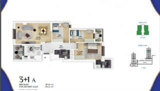 Low-Rise Apartments with Golden Horn View in Eyüp İstanbul, Property Plans-9