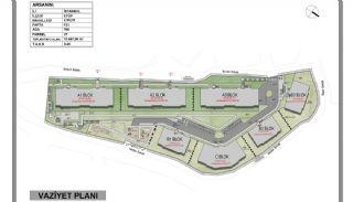 Stadszicht Appartementen met Investeringsmogelijkheden in Eyup, Vloer Plannen-1
