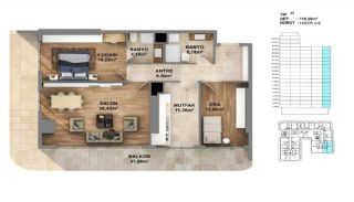 Investment Opportunity Flats in Crown of Istanbul Avcılar, Property Plans-1
