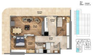 Investment Opportunity Flats in Crown of Istanbul Avcılar, Property Plans-4