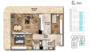 Investment Opportunity Flats in Crown of Istanbul Avcılar, Property Plans-5