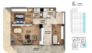 Investment Opportunity Flats in Crown of Istanbul Avcılar, Property Plans-6