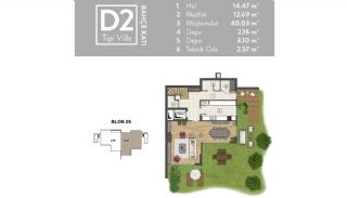 Luxurious Villas Intertwined with Nature in Beykoz Riva, Property Plans-15