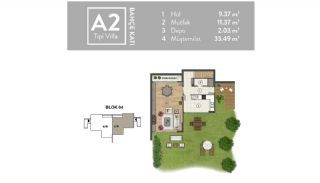 Luxurious Villas Intertwined with Nature in Beykoz Riva, Property Plans-3