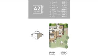 Luxurious Villas Intertwined with Nature in Beykoz Riva, Property Plans-4
