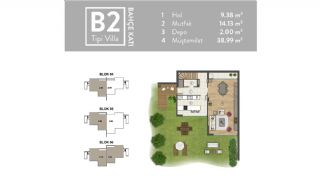Luxurious Villas Intertwined with Nature in Beykoz Riva, Property Plans-8