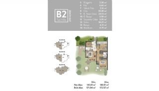 Luxurious Villas Intertwined with Nature in Beykoz Riva, Property Plans-9