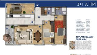 Investment Flats Close to the Seashore in İstanbul, Property Plans-7